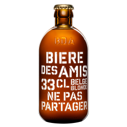 Bières des Amis - 5,8° (33cl.)