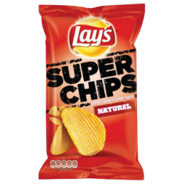 Lay's Superchips Naturel XL...