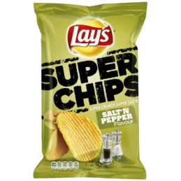 Lay's Superchips Poivre &...